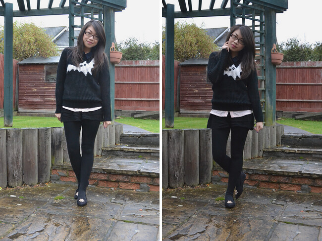 daisybutter - UK Style and Fashion Blog: what i wore, ootd, wiwt, AW12, j.w. anderson for topshop, layered outfits for autumn