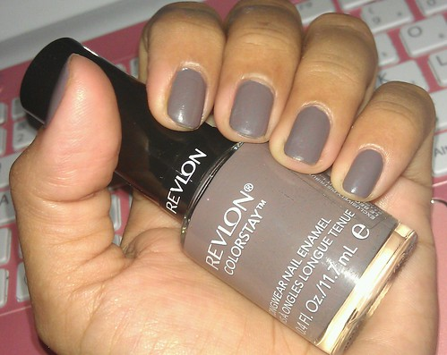 Revlon ColorStay Longwear Nail Enamel 200 Stormy Night swatches