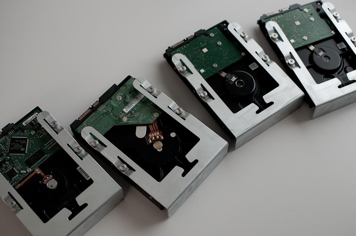 Hard Disk Drive Quartet