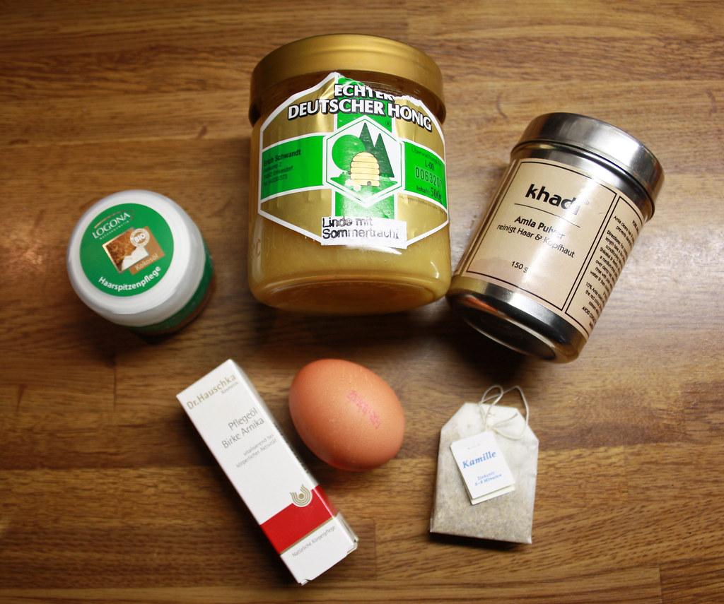 Haare mit honig aufhellen rezept
