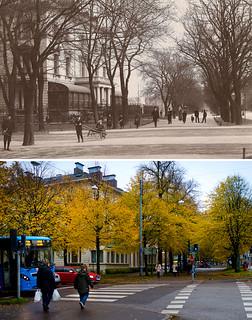 Gothenburg, Lorensberg 1910 / 2012
