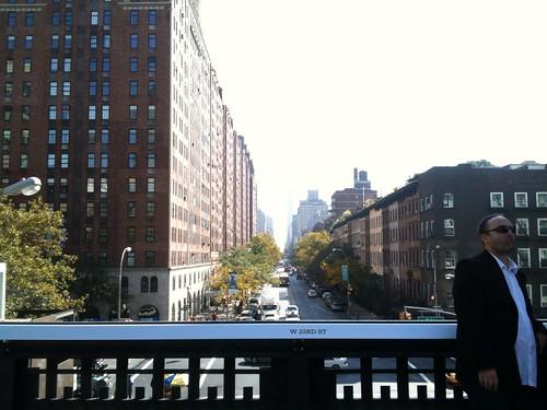W 23rd St, High Line