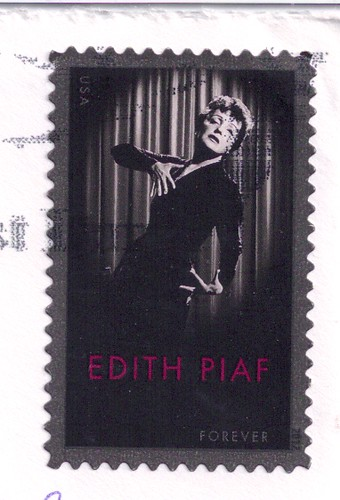 USA Edith Piaf Stamp