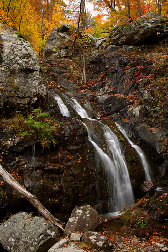 Shenandoah: First Upper Whiteoak Falls