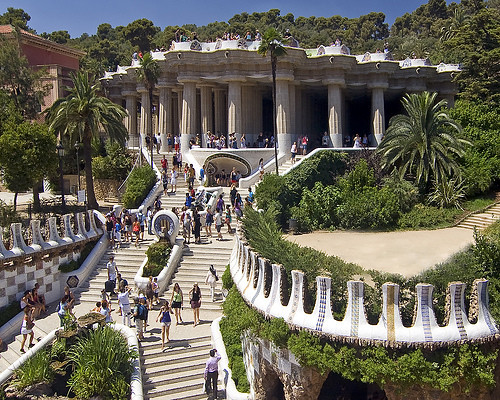 Park Güell, Barcelona, Spain  Flickr - Photo Sharing!