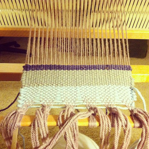Yes, weaving!