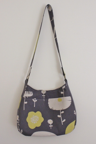 messanger bag - skinny laminx - wild flowers - lemon plum