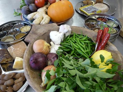 Ingredients for Pakistani Autumn Feast