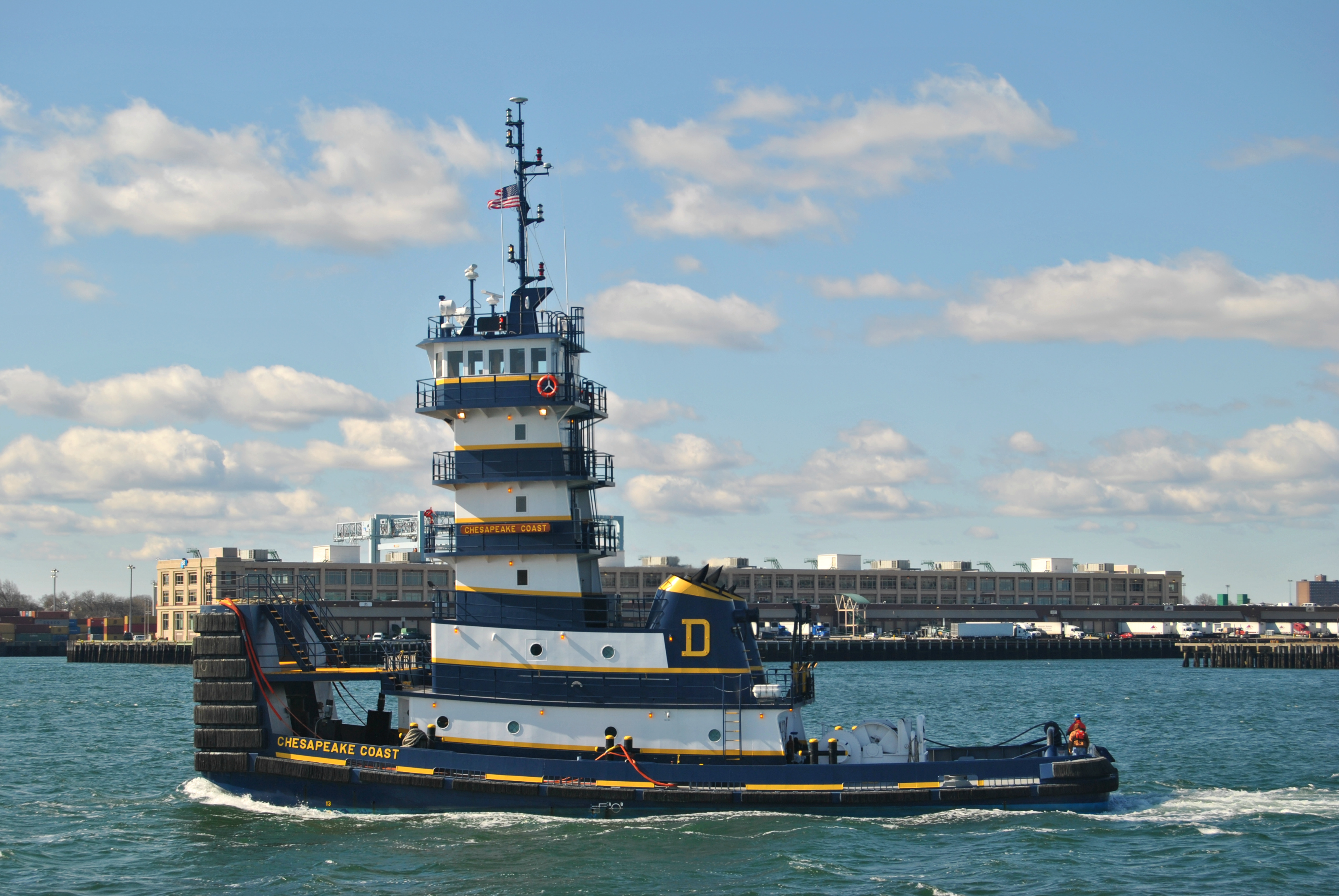 Water In Engine >> Chesapeake Coast Tugboat @ Boston MA Harbour | Official Numb… | Flickr - Photo Sharing!