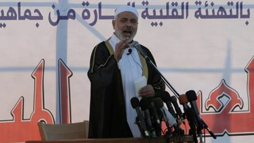 Hamas leader Ismail Haniyeh censures Israel after its bombing of an arms factory in Sudan. Israel has accused Sudan of supplying arms to the Palestinians in Gaza. by Pan-African News Wire File Photos