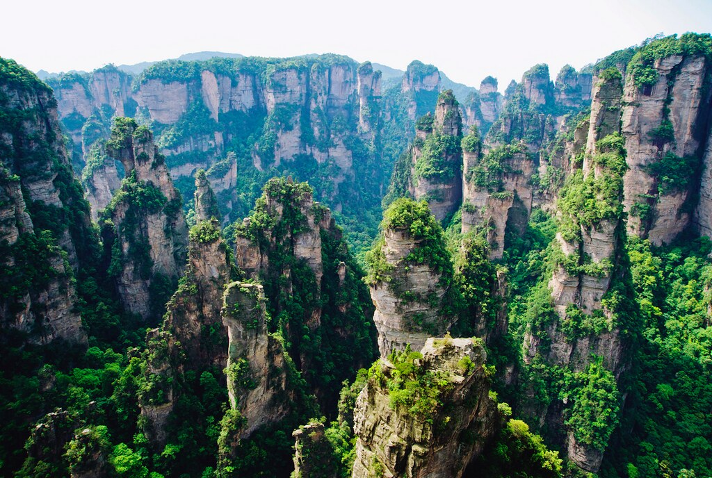 ZhangJiaJie National Park China Landscape