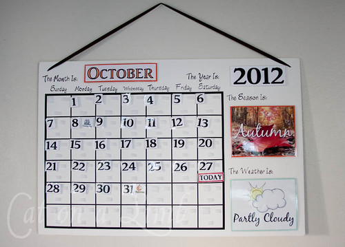 Calendar For Kids To Make : Cat on a limb calendar for the kids free printables