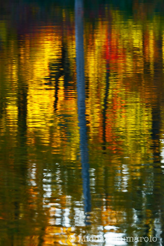 Autumn Reflections on Sterling Pond - 02