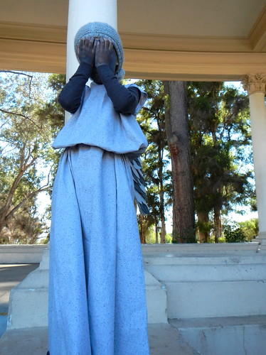 there are weeping angels in balboa park, you guys