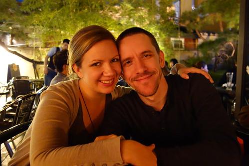 Evan and Rachel in Seoul, South Korea