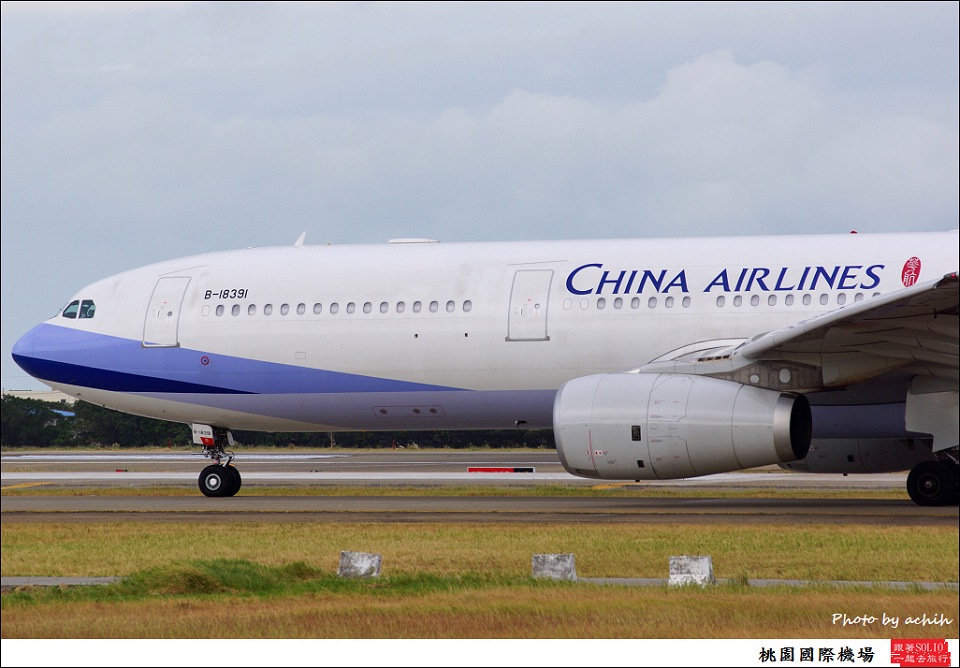 中華航空B-18391