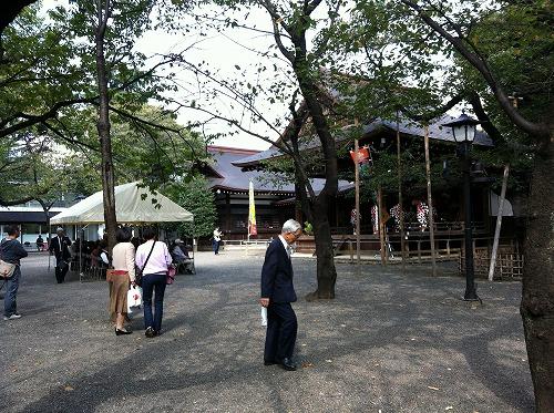 靖国神社神楽