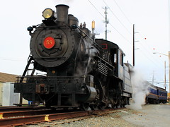 Wilmington and Western Steam Locomotive (0-6-0)