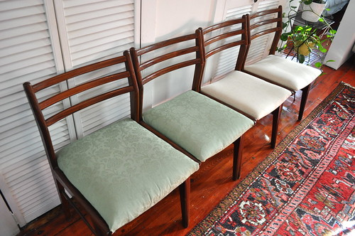 chairs, before + after