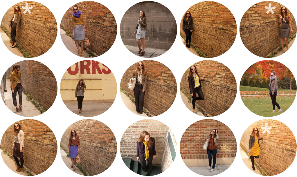 october dash dot dotty recap, a month of outfits, ootd, fall work outfits, outfit blog, creative young professional, what to wear