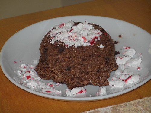 peppermint chocolate mug cake