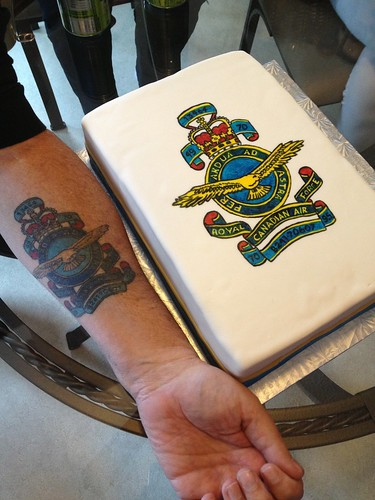 Air Force Tattoo Cake Sugar Bites Cakes