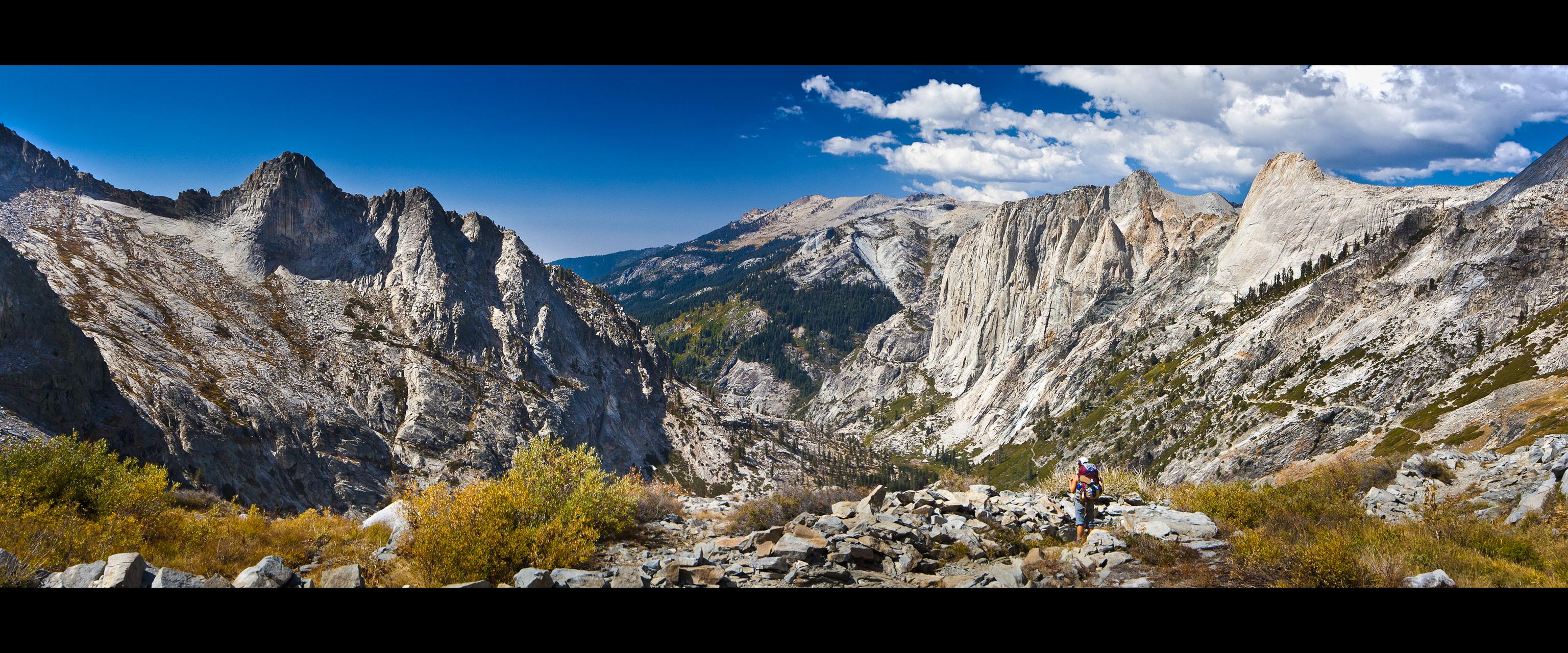 Elevation Of Triple Divide Peak California Usa
