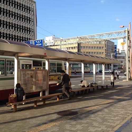 はりまや橋から高速バスに by haruhiko_iyota