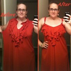 Ruffled Dress Before & After