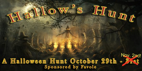 Eclectic Desires Halloween Hunt!