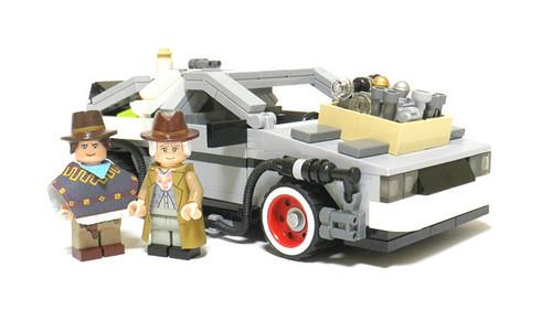 BTTF Delorean - LEGO CUUSOO