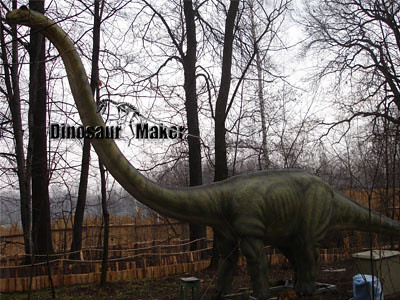 Life Size Animatronic Dinosaur at the outdoor