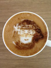 Today's latte, Yeoman.