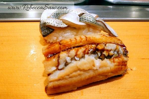 Tsukiji market - sushi dai - best sushi-058