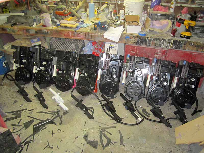 Proton Pack Lineup