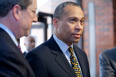 MA Governor Deval Patrick traveled with Dean Bruce Magid on a trade mission to Brazil in 2011