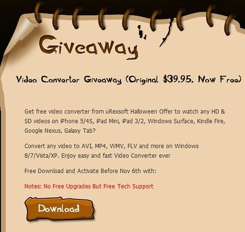 urex-video-converter-pt-giveaway-for-halloween