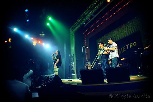 Jeck Pilpil & Peacepipe at Metro Bar - Oct. 17, 2012