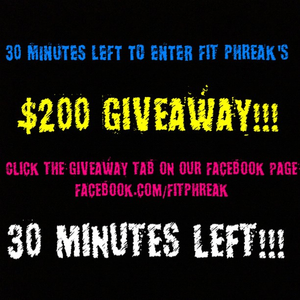 """""""SHARE"""" THIS POST ON FACEBOOK FOR AN ENTRY! ONLY 30"""