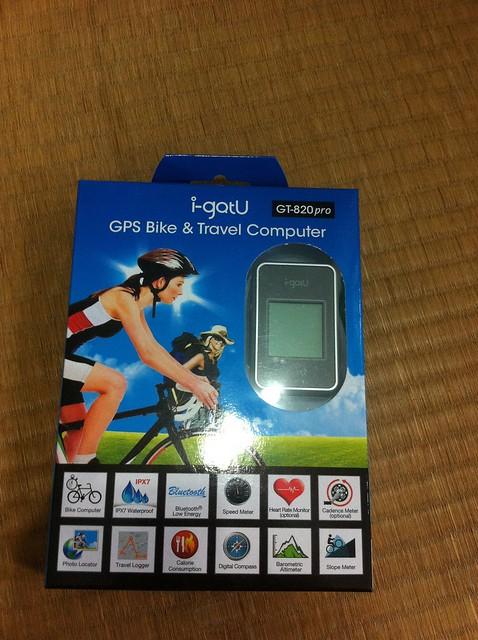 igotU單車暨旅遊專用電腦GT-820Pro - 2
