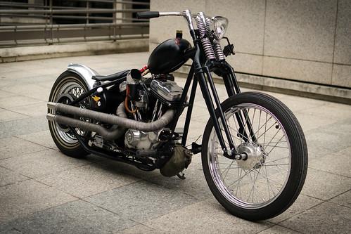 Harley Davidson 883 Kustom by Megathon Charlie