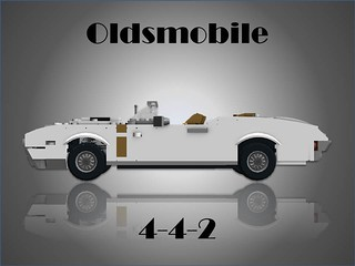 Oldsmobile 1968 4-4-2 W30 Convertible