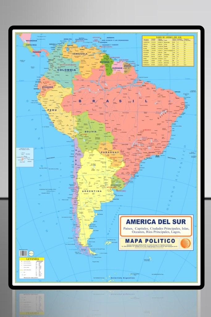 Mapa Politico America Sur.America Del Sur Mapa Politico Mapasgaar Flickr