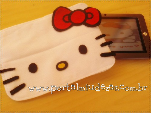 Case Hello Kitty - Tablets e Ipads by miudezas_miudezas