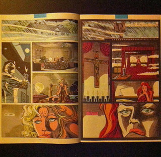2 Pages of 'Scarlet Redemption' from Marc Spector: Moon Knight (1991)
