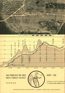 San Francisco Bay Area Rapid Transit District Geary Line (1961)