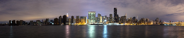 Manhattan without power after Sandy (high res)