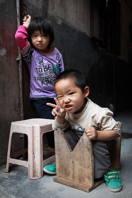 Tangxia village kids