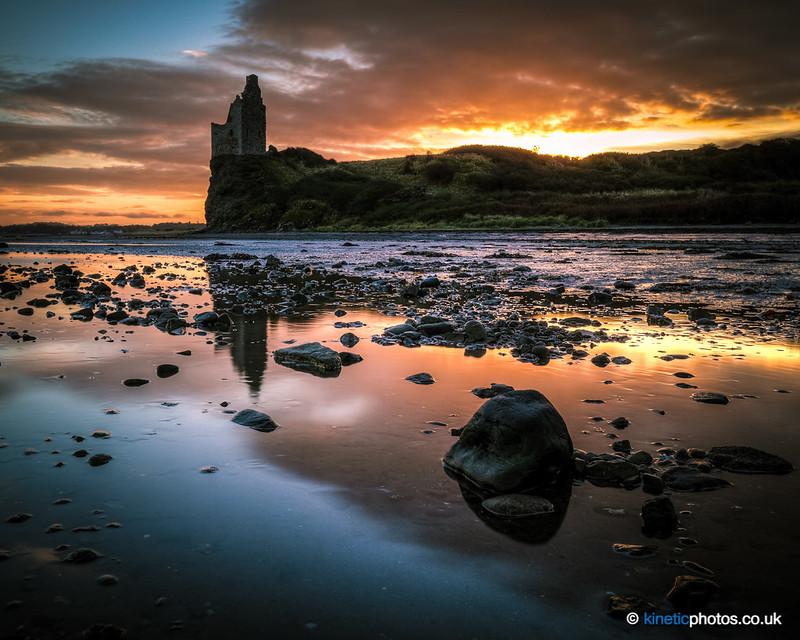 Greenan Castle at sunrise [IMG_2794]