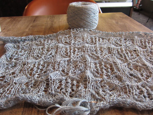 Shetland Shawl Dress